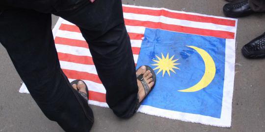 demo di kedubes malaysia