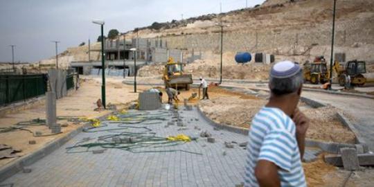 israel lanjutkan pembangunan rumah di-tepi-barat