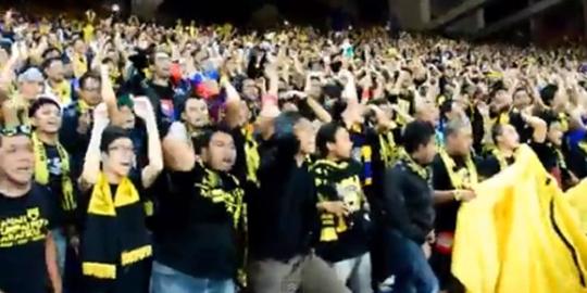 suporter malaysia lecehkan indonesia